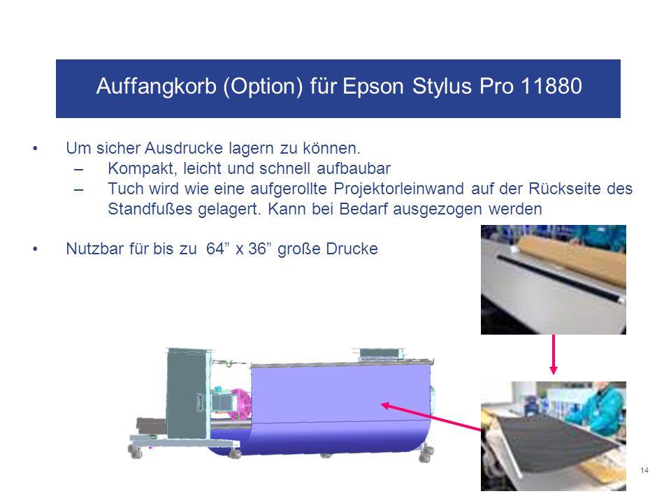 Auffangkorb (Option) für Epson Stylus Pro 11880