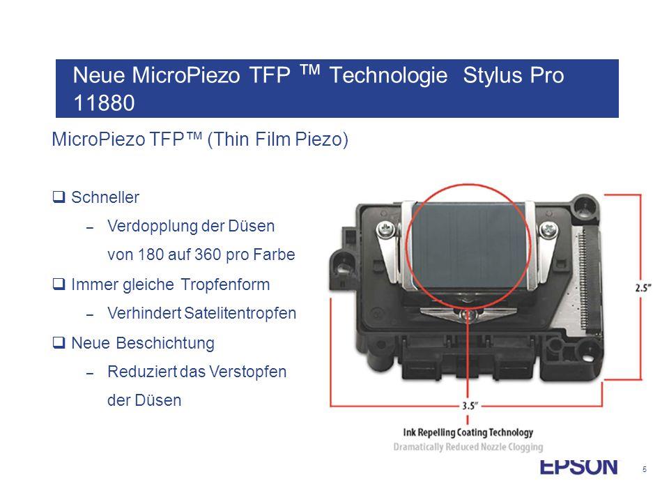 Neue MicroPiezo TFP ™ Technologie Stylus Pro 11880
