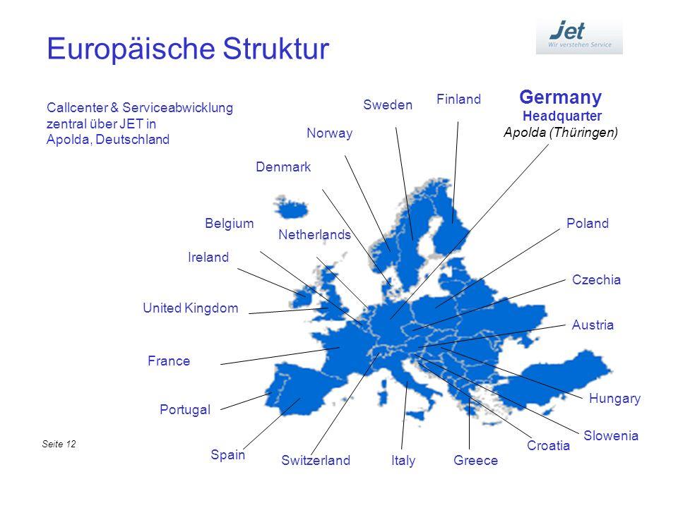 Europäische Struktur Germany Headquarter Apolda (Thüringen) Finland