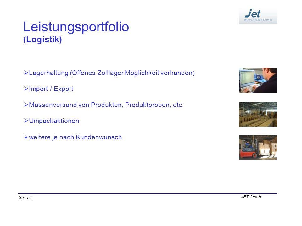 Leistungsportfolio (Logistik)