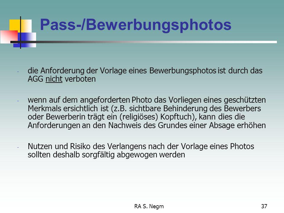 Pass-/Bewerbungsphotos
