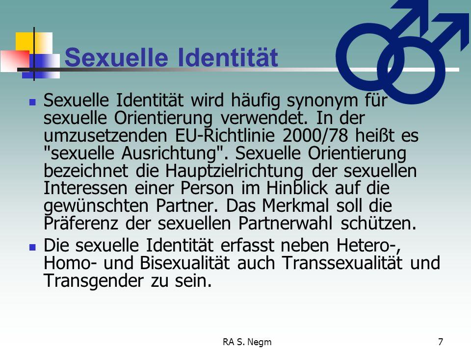 Sexuelle Identität