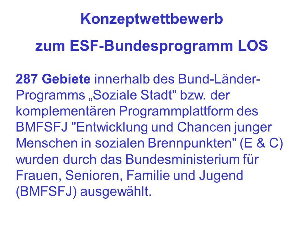 zum ESF-Bundesprogramm LOS