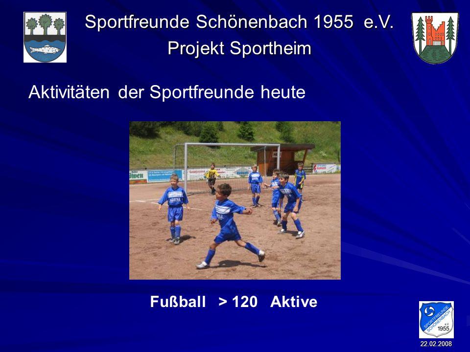 Aktivitäten der Sportfreunde heute
