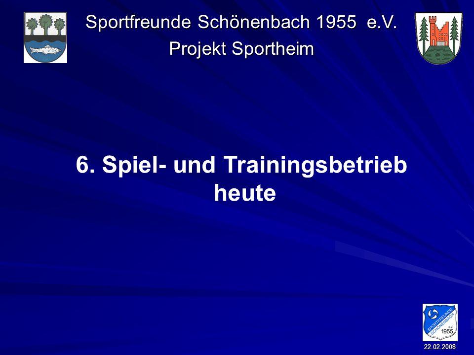 6. Spiel- und Trainingsbetrieb