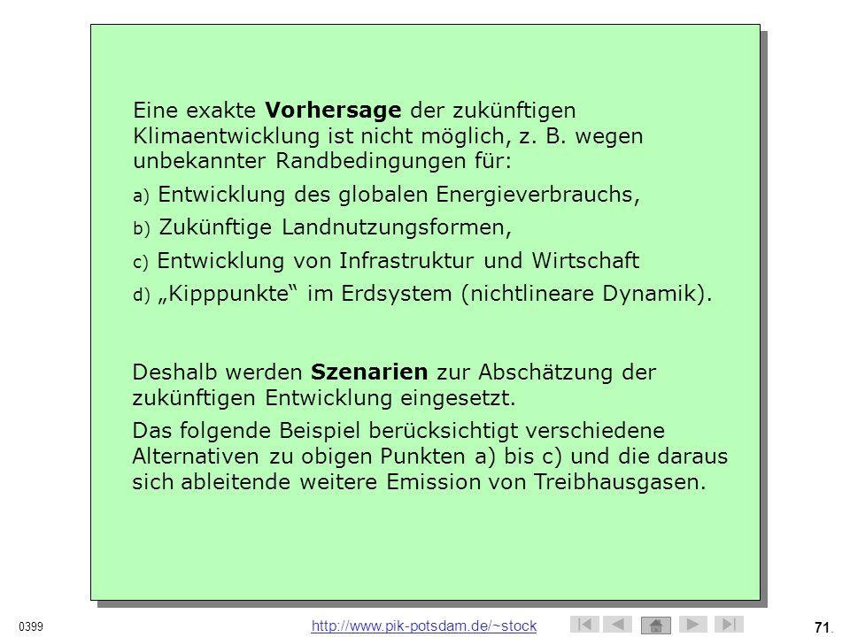 Entwicklung des globalen Energieverbrauchs,