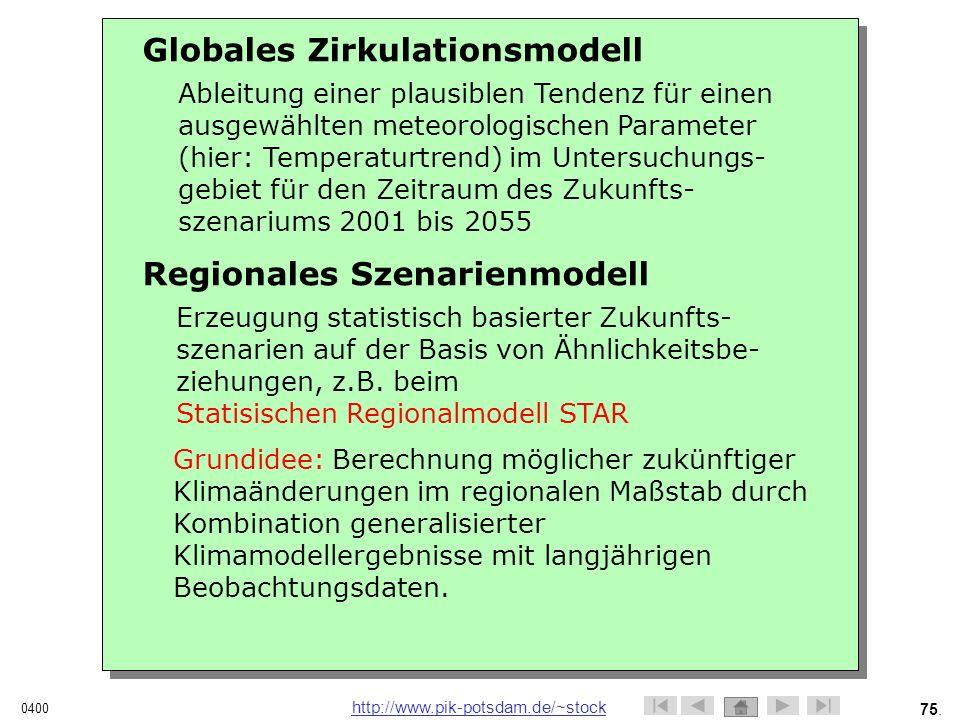 Globales Zirkulationsmodell
