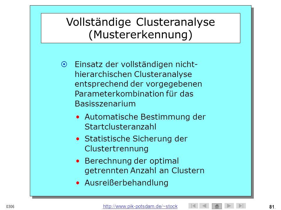 Vollständige Clusteranalyse (Mustererkennung)