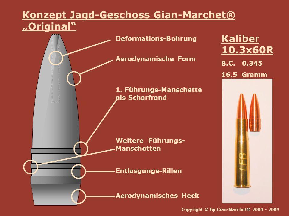 """Konzept Jagd-Geschoss Gian-Marchet® """"Original"""