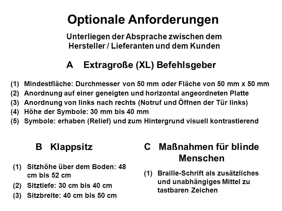 A Extragroße (XL) Befehlsgeber