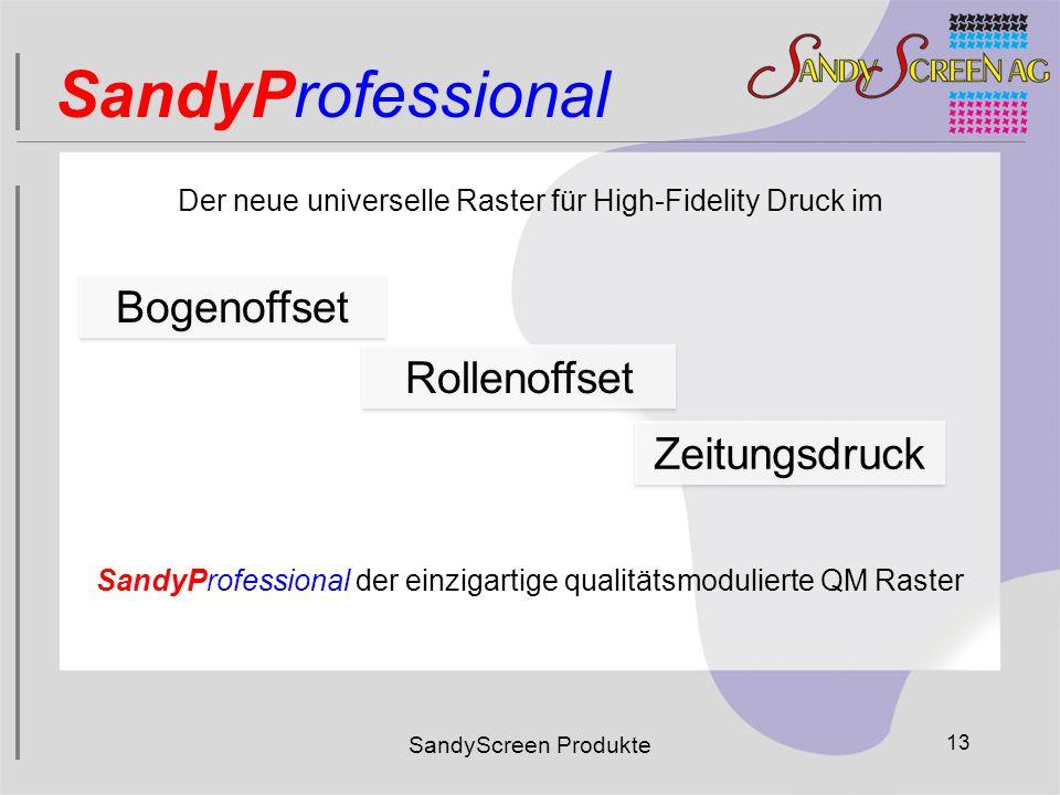 SandyProfessional Bogenoffset Rollenoffset Zeitungsdruck