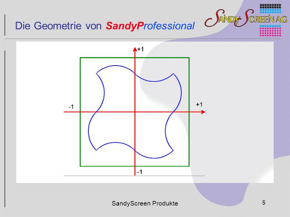 Die Geometrie von SandyProfessional