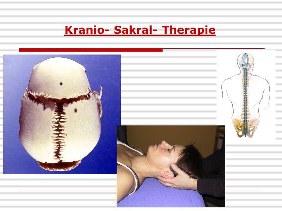 Kranio- Sakral- Therapie
