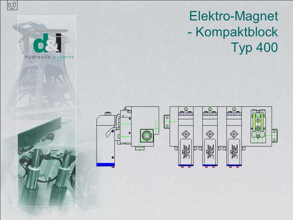 Elektro-Magnet - Kompaktblock Typ 400