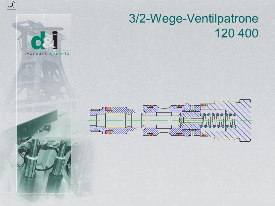 3/2-Wege-Ventilpatrone 120 400