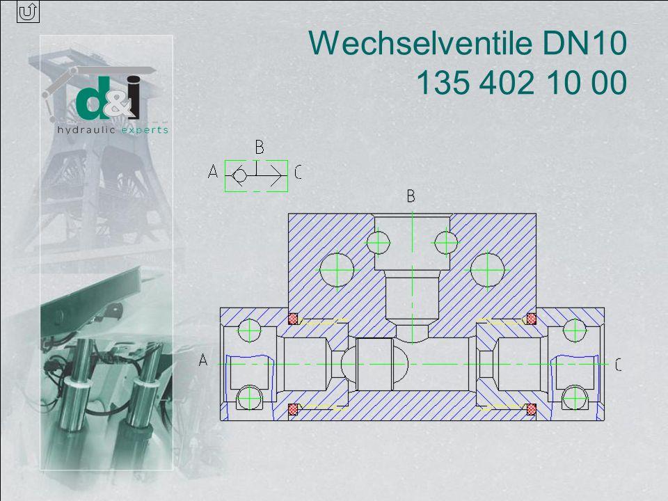 Wechselventile DN10 135 402 10 00