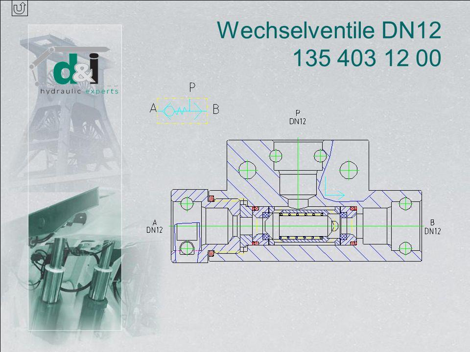 Wechselventile DN12 135 403 12 00