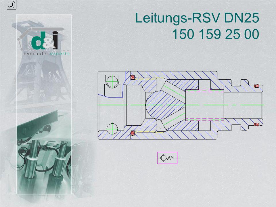 Leitungs-RSV DN25 150 159 25 00