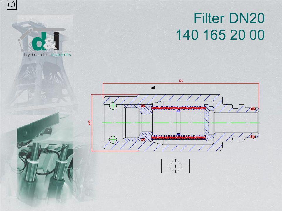 Filter DN20 140 165 20 00