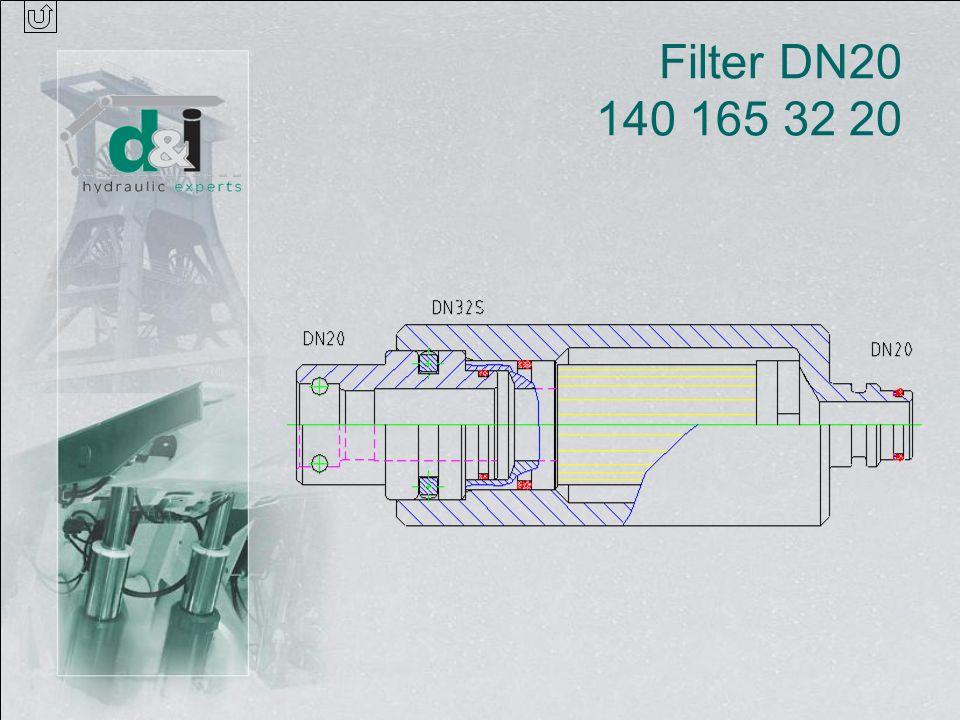 Filter DN20 140 165 32 20
