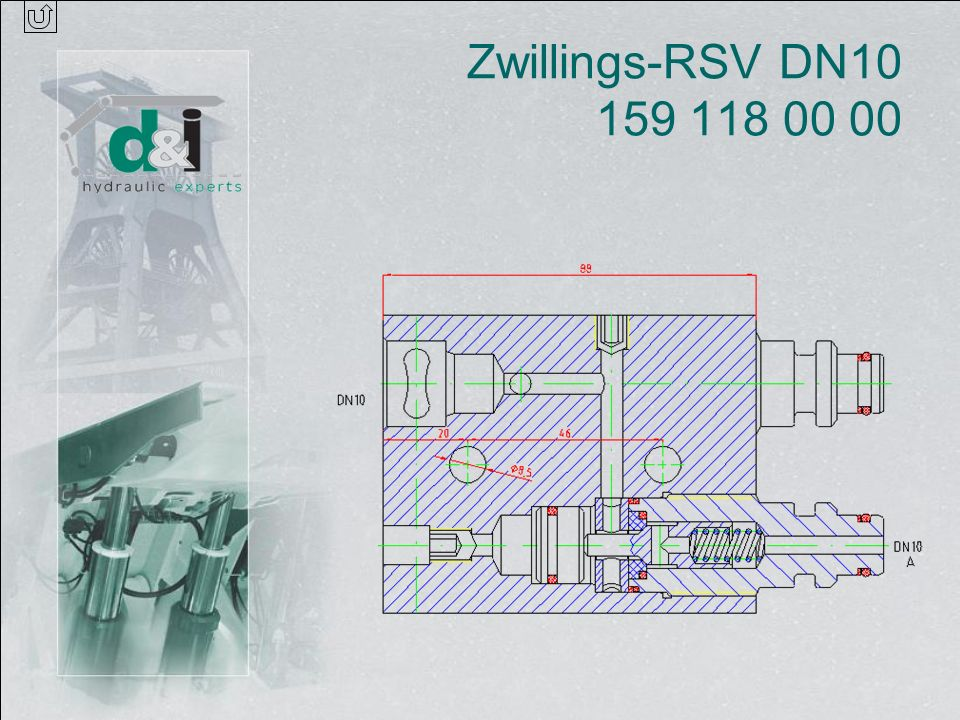 Zwillings-RSV DN10 159 118 00 00