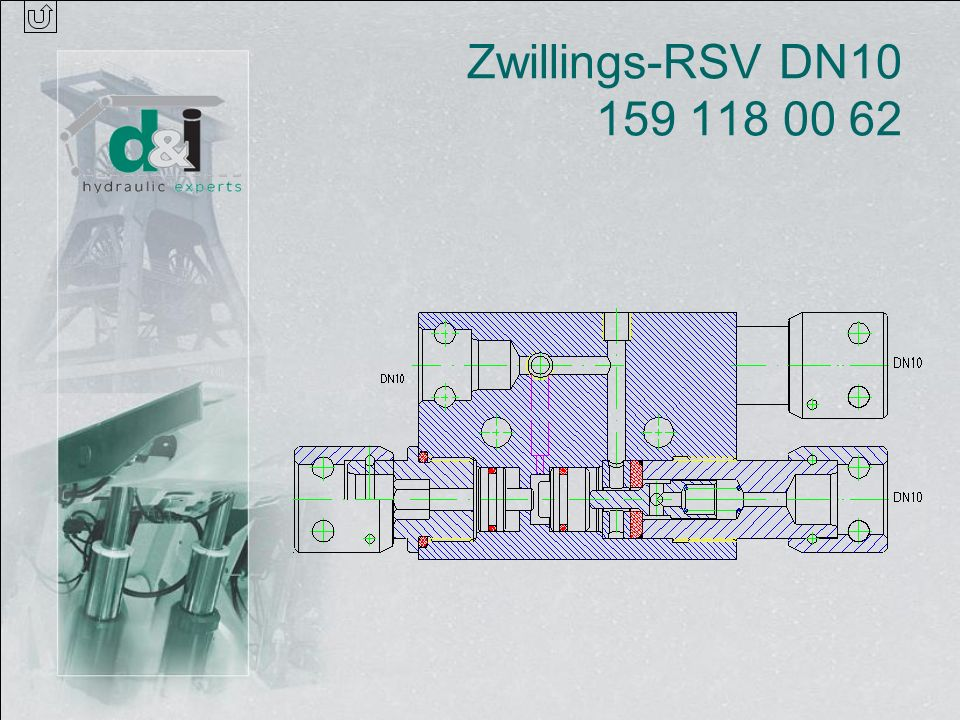 Zwillings-RSV DN10 159 118 00 62