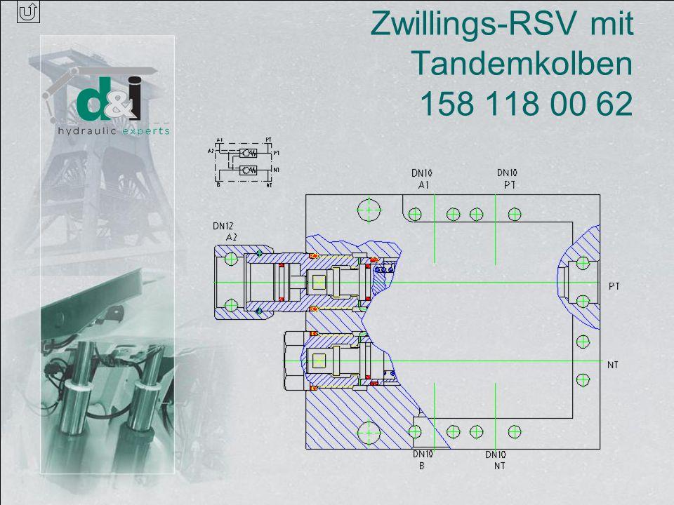Zwillings-RSV mit Tandemkolben 158 118 00 62