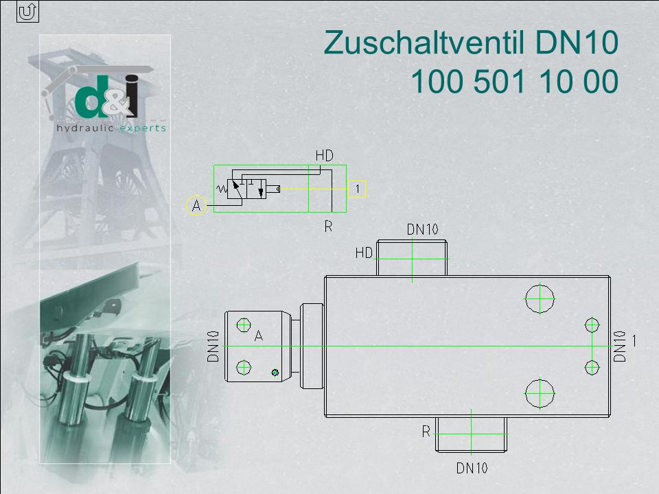 Zuschaltventil DN10 100 501 10 00