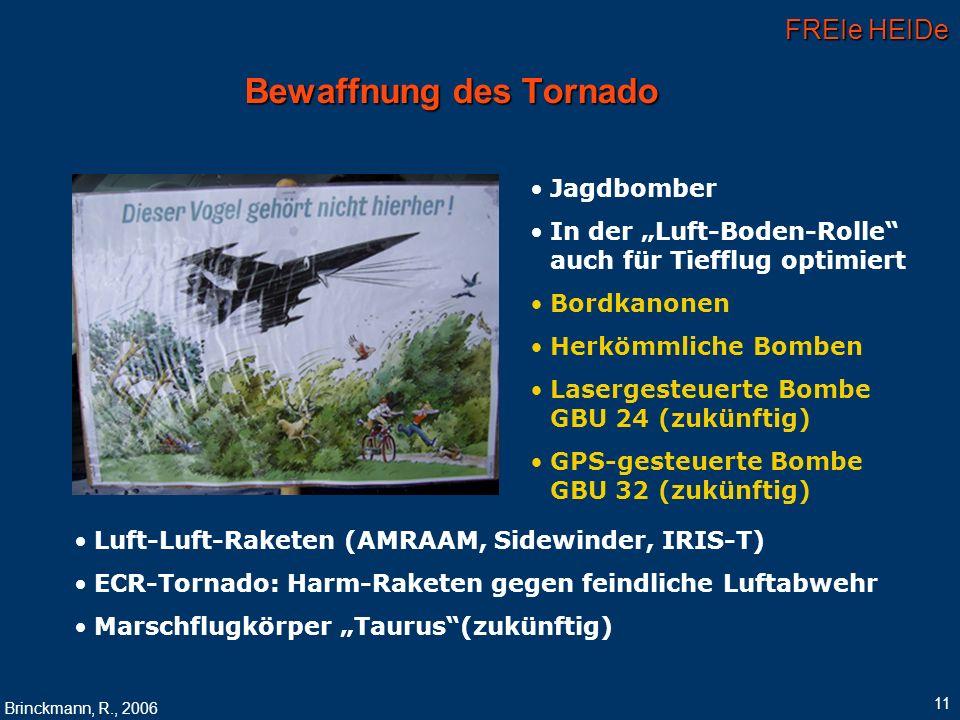 Bewaffnung des Tornado