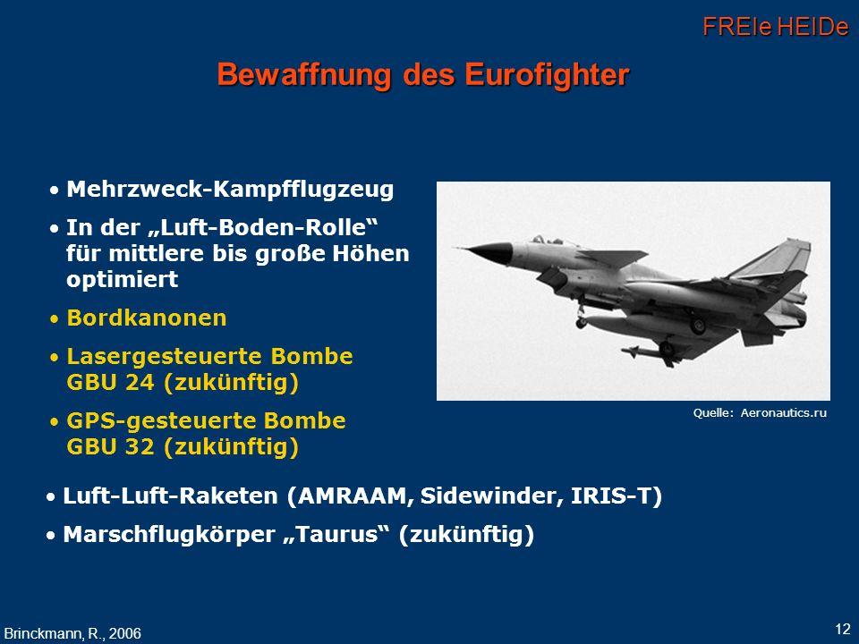 Bewaffnung des Eurofighter