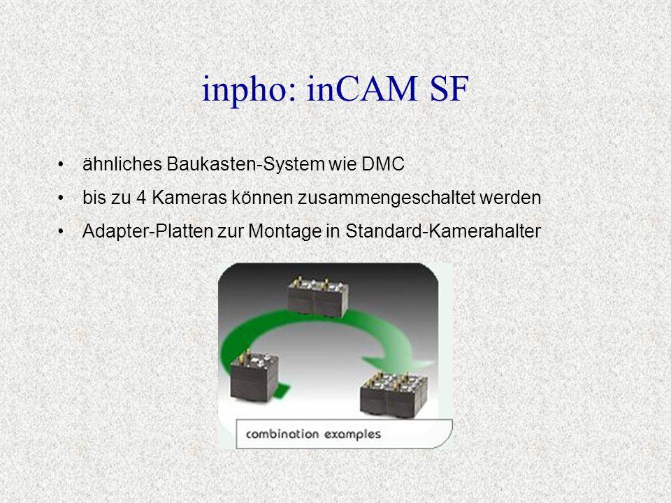 inpho: inCAM SF ähnliches Baukasten-System wie DMC