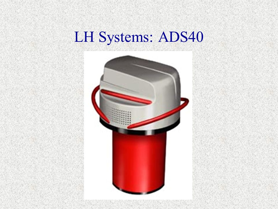 LH Systems: ADS40