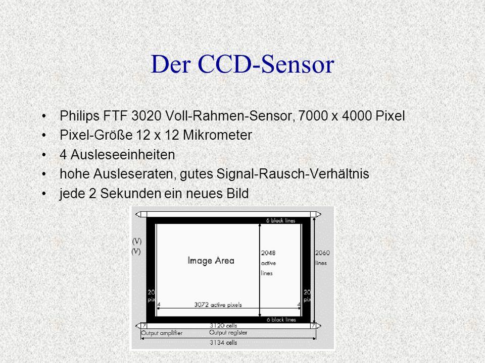 Der CCD-Sensor Philips FTF 3020 Voll-Rahmen-Sensor, 7000 x 4000 Pixel