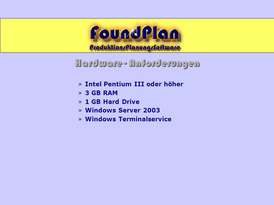 Hardware - Anforderungen