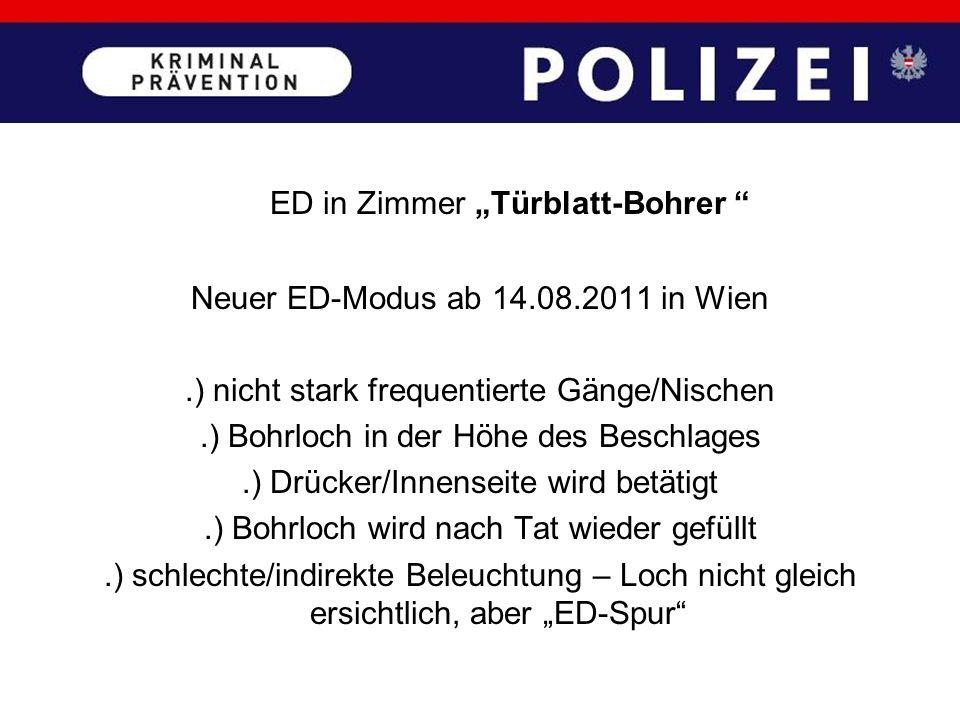 """ED in Zimmer """"Türblatt-Bohrer"""