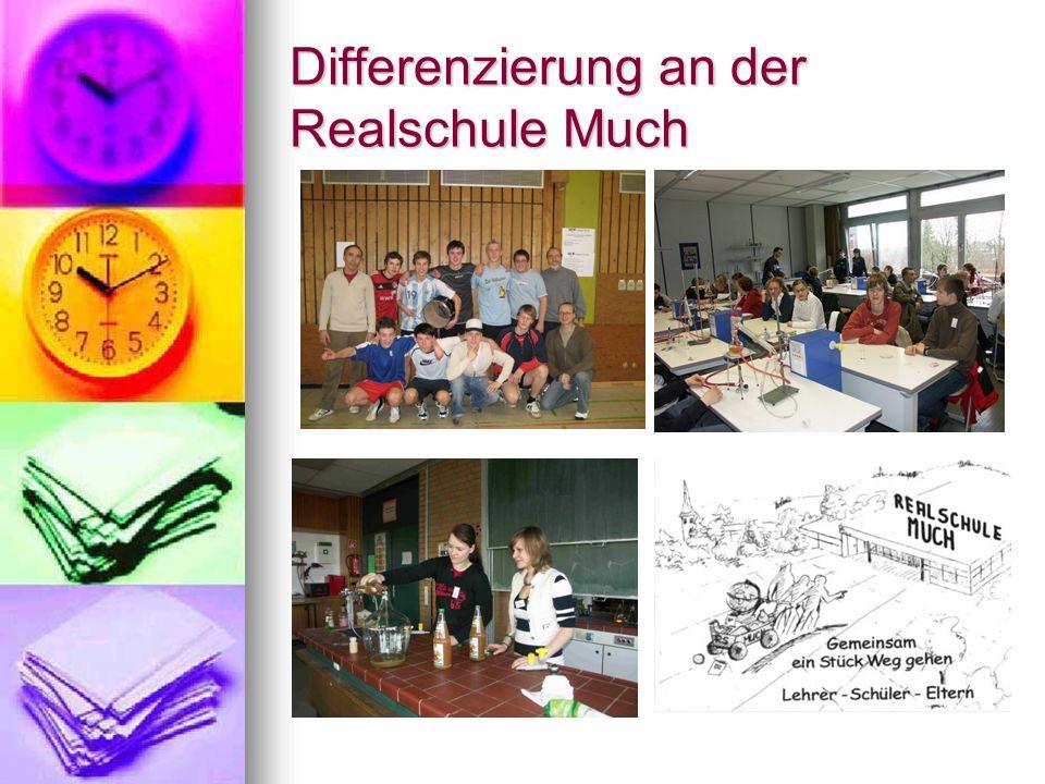 Differenzierung an der Realschule Much
