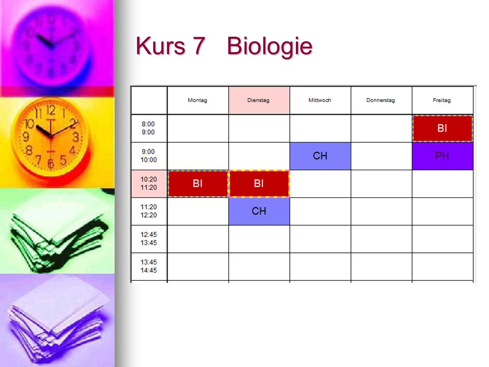 Kurs 7 Biologie