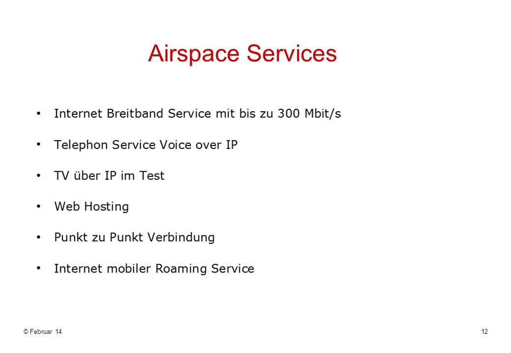 Airspace Services © März 17