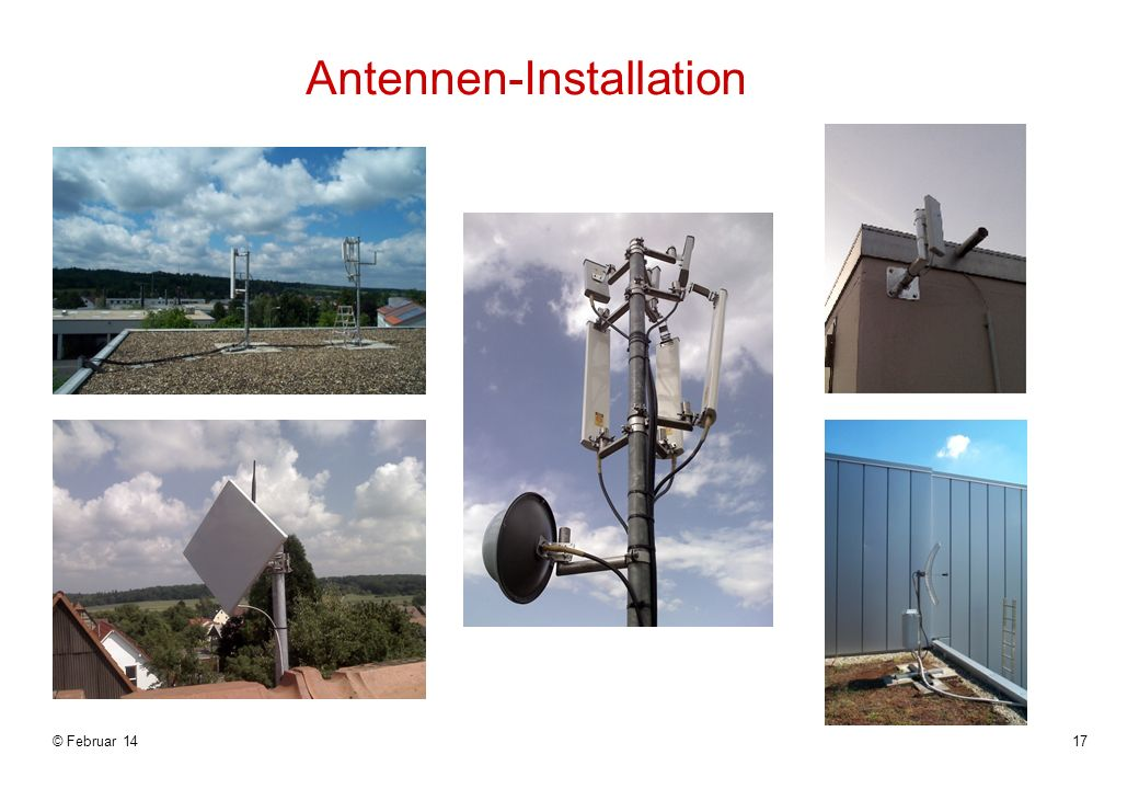 Antennen-Installation