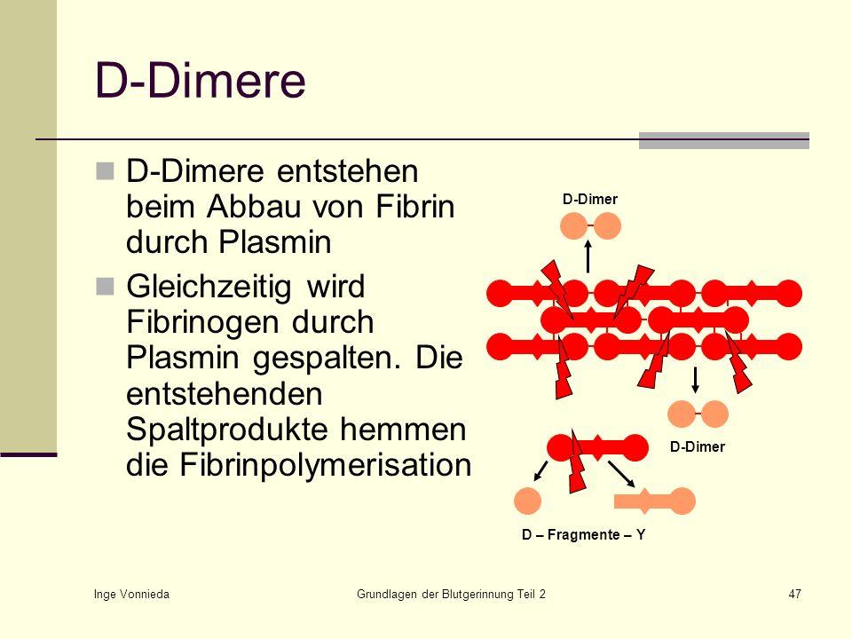 Grundlagen der Blutgerinnung Teil 2