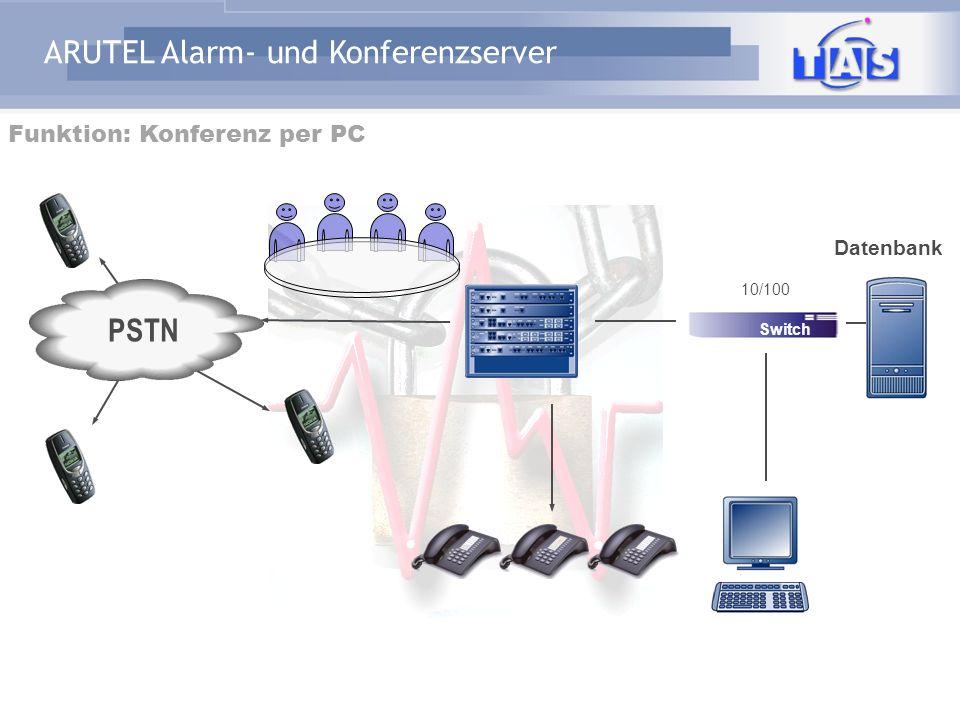 Funktion: Konferenz per PC
