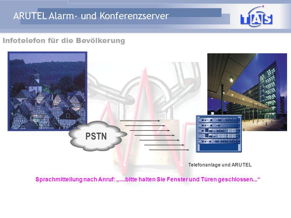 PSTN Infotelefon für die Bevölkerung