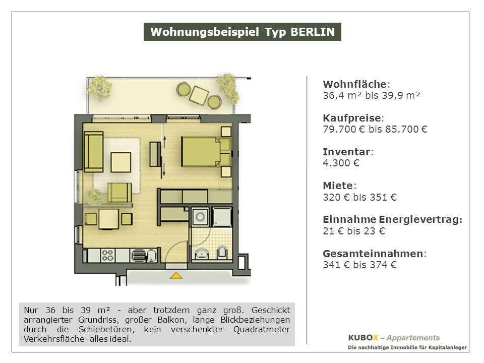 Wohnungsbeispiel Typ BERLIN