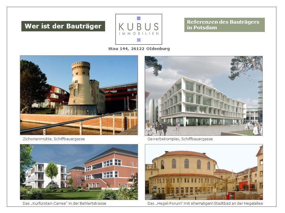 Wer ist der Bauträger Referenzen des Bauträgers in Potsdam