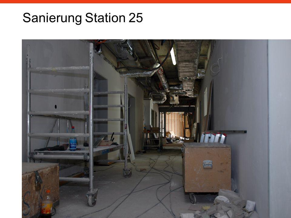 Sanierung Station 25