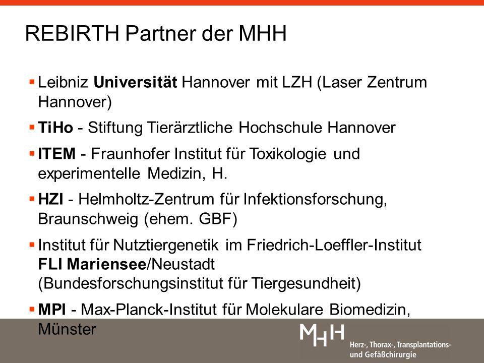 REBIRTH Partner der MHH