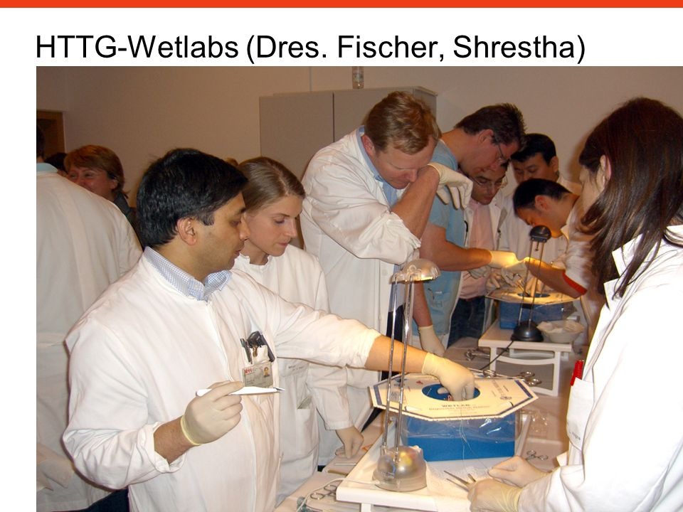 HTTG-Wetlabs (Dres. Fischer, Shrestha)