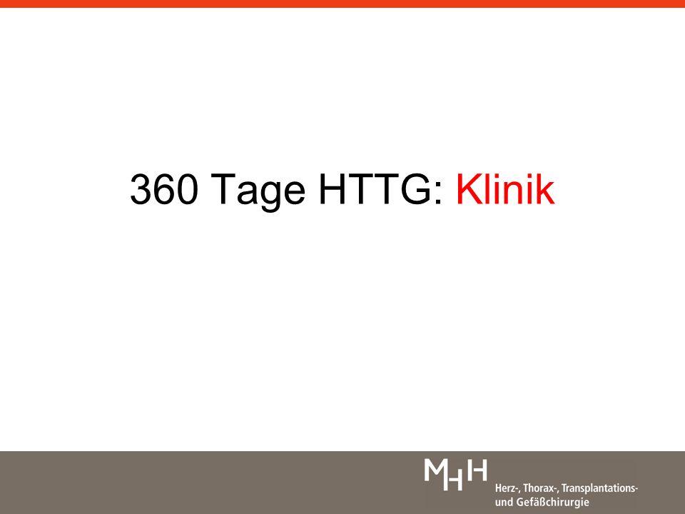 360 Tage HTTG: Klinik