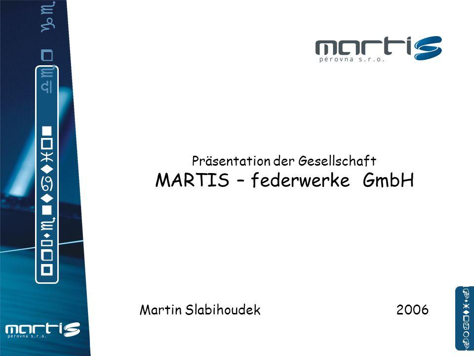 MARTIS – federwerke GmbH