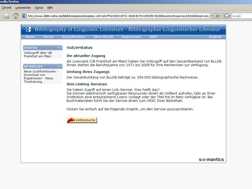 Klicken auf Status => Gast-Status : kostenfrei BLL 1971-1995